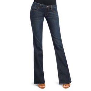 CAbi Dark Wash Zoe Flare Leg Jeans NWT
